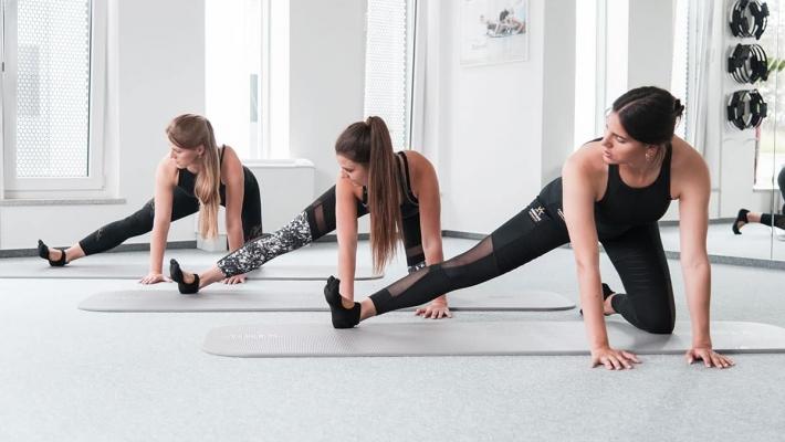 Pilates na blazinah